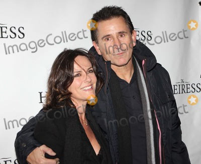 Anthony Lapaglia Photo - Gia Carides and Anthony Lapaglia Arriving at the Opening Night Performance of the Heiress at the Walter Kerr Theatre in New York City on 01-10-1-2012 Photo by Henry Mcgee-Globe Photos Inc