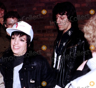 Beck Photo - Chuck Zito_liza Mennelli After Performance of the Rink at Martin Beck Theatrenyc Photo by Henry Mcgee Globe Photosinc 2