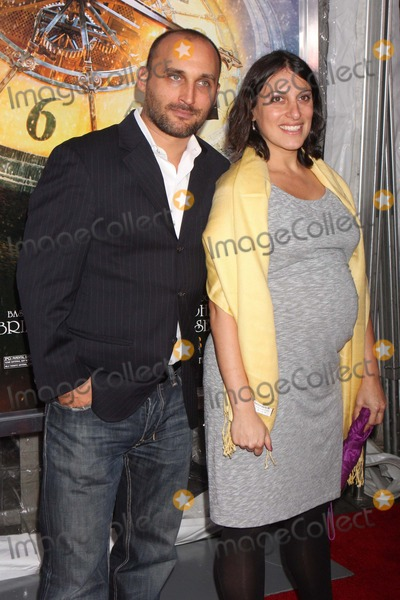 Amir Bar-Lev Photo - Amir Bar-lev and Wife Arriving at the World Premiere of Paramount Pictures Hugo in 3d at the Ziegfeld Theatre in New York City on 11-21-2011 Photo by Henry Mcgee-Globe Photos Inc 2011