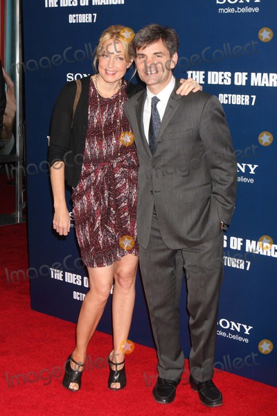 Alexandra Wentworth Photo - Alexandra Wentworth and George Stephanopoulos Arriving at the Premiere of Columbia Pictures the Ides of March at the Ziegfeld Theater in New York City on 10-05-2011 Photo by Henry Mcgee-Globe Photos Inc 2011