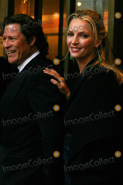 Arpad Busson Photo - Arpad Busson and Uma Thurman Arriving at the Film Society of Lincoln Center 35th Gala Tribute to Meryl Streep at Lincoln Centers Avery Fisher Hall in New York City on 04-14-2008 Photo by Henry McgeeGlobe Photos Inc 2008