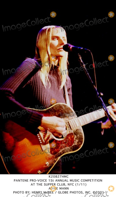 Aimee Mann Photo - Pantene Pro-voice 1st Annual Music Competition at the Supper Club NYC (111) Aimee Mann Photo by Henry Mcgee  Globe Photos Inc