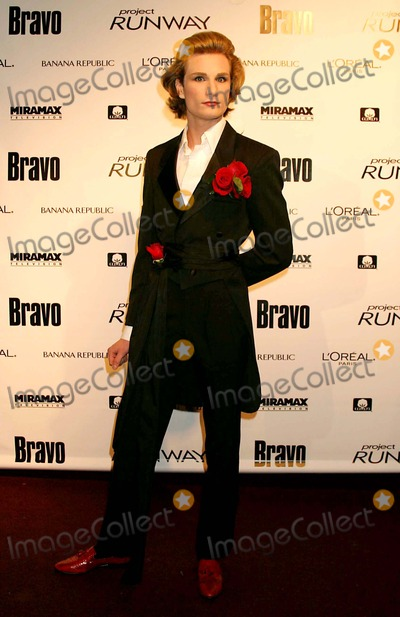 Austin Scarlett Photo - Austin Scarlett (Project Runway Contestant) Arriving at a Launch Party For Bravos Project Runway at Pm Lounge in New York City on 11-30-2004 Photo by Henry McgeeGlobe Photos Inc 2004