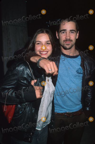 Amelia Warner Photo - SD 09292001 Amelia Warner  Husband Colin Farrell Saturday Night Live After Party at Brasserie 8 12  NYC Photo Henry Mcgee Globe Photos Inc