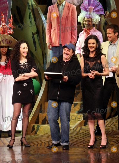 EASTER BONNETS Photo - New York NY 04-27-2010Bebe Neuwirth Nathan Lane and Catherine Zeta-Jones performing in the 24th Annual Easter Bonnet Competition to benefit Broadway CaresEquity Fights AIDS at The Minskoff TheatreDigital photo by Lane Ericcson-PHOTOlinknet