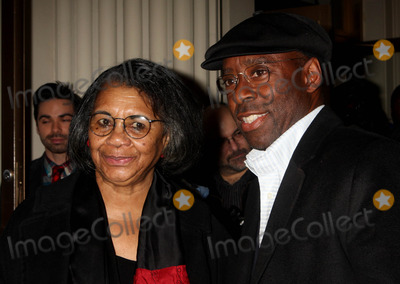 August Wilson Photo - Mary Alice and Courtney B Vance Arriving at the Opening Night Performance of August Wilsons Fences at the Cort Theatre in New York City on 04-26-2010 Photo by Henry Mcgee-Globe Photos Inc 2010