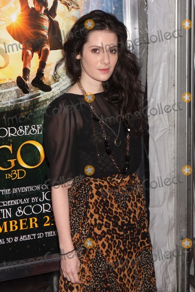 Aleksa Palladino Photo - Aleksa Palladino Arriving at the World Premiere of Paramount Pictures Hugo in 3d at the Ziegfeld Theatre in New York City on 11-21-2011 Photo by Henry Mcgee-Globe Photos Inc 2011