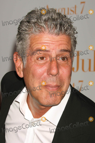 Anthony Bourdain Photo - Anthony Bourdain Arriving at the Premiere of Julie  Julia at the Ziegfeld Theater in New York City on 07-30-2009 Photo by Henry Mcgee-Globe Photos Inc 2009