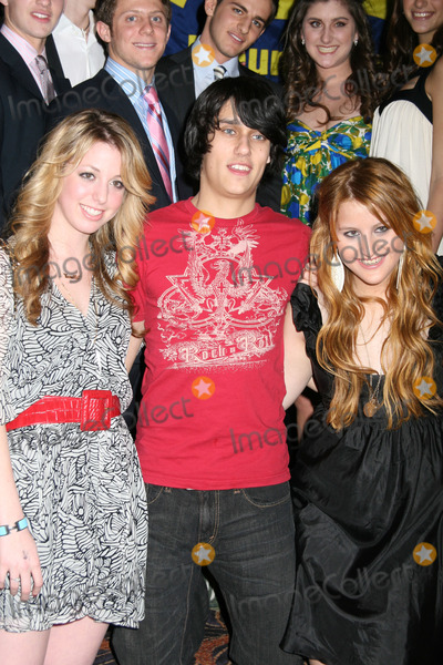 Adolescents Photo - NYC  031607Singer Teddy Geiger (c) with Cami Kalvaria (l) and Samantha Perelman (r) (Ron Perelman and Claudia Cohens daughter) at a party hosted by the founders of TEEN EFFORT an organization where teens team up with underprivileged NYC teenagers to raise money for the Mount Sinai Adolescent Center at the Mandarin Oriental HotelDigital Photo by Adam Nemser-PHOTOlinknet