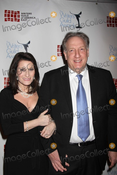 Alan Zweibel Photo - NYC  022010Alan Zweibel (receiving the Ian McLellan Hunter Award for lifetime achievement in writing) and wife Robin at the 62nd Annual Writers Guild Awards East at the Hudson Theatre Digital Photo by Adam Nemser-PHOTOlinknet