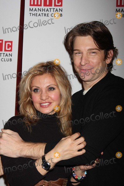 Andy Karl Photo - NYC  012209Orfeh and Andy Karlopening night party for Manhattan Theatre Clubs The American Plan Hard Rock CafeDigital Photo by Adam Nemser-PHOTOlinknet