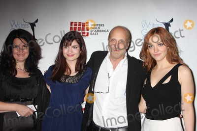 Chris Elliott Photo - NYC  022010Chris Elliott wife Paula with daughters Bridey Elliott and Abby Elliott (Saturday Night Live) at the 62nd Annual Writers Guild Awards East at the Hudson Theatre Digital Photo by Adam Nemser-PHOTOlinknet