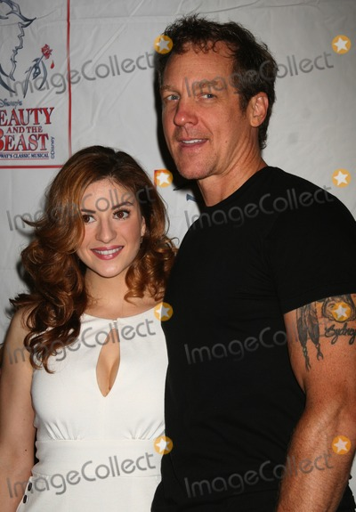 Anneliese van der Pol Photo - NYC  072907Anneliese van der Pol (Belle) and Steve Blanchard (Beast) at the party celebrating the final performance of Disneys Beauty and the Beast after 13 years on Broadway at Cipriani 42nd StreetDigital Photo by Adam Nemser-PHOTOlinknet