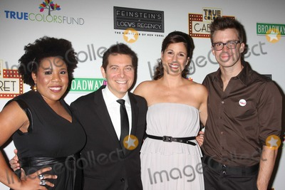 Gavin Creel Photo - NYC  092809Melinda Doolittle (American Idol) Michael Feinstein Stephanie J Block Gavin Creel (Hair) at the launch of the first monthly True Colors Cabaret presented by The True Colors Tour Broadway Impact and the True Colors Fund at Feinsteins at Loews RegencyDigital Photo by Adam Nemser-PHOTOlinknet