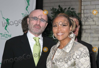 Phil Collins Photo - NYC  051006Phil Collins and Lynn Whitfield at opening night of the new Broadway musical TARZAN presented by Disney at the Richard Rodgers TheatreDigital Photo by Adam Nemser-PHOTOlinknet
