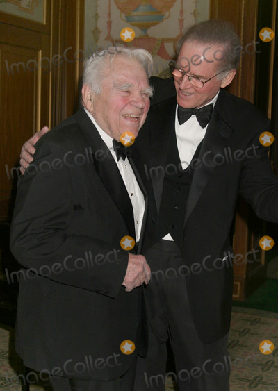 Andy Rooney Photo - NYC  021905Andy Rooney and Charles Grodin at the 57th Annual WGA Awards (Writers Guild of America East) at The Pierre HotelDigital Photo by Adam Nemser-PHOTOlinkorg