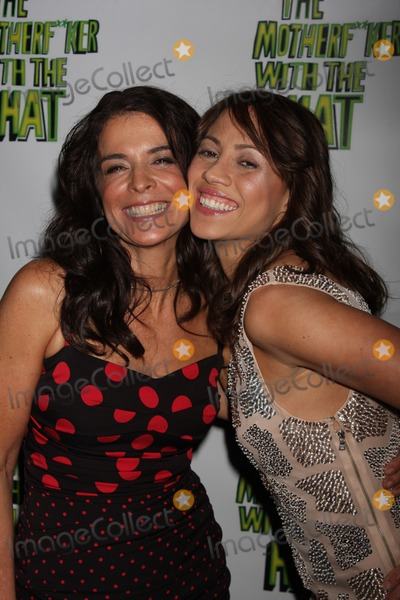 Annabella Sciorra Photo - New York City 11th April 2011Annabella Sciorra and Elizabeth Rodriguez at the after party for their new Broadway play Motherfker with the HatPhoto by Adam Nemser-PHOTOlinknet