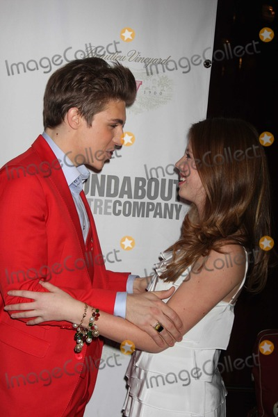 Allie Trimm Photo - NYC  101509Nolan Gerard Funk and Allie Trimm at the opening night party for Bye Bye Birdie on Broadway at Hard Rock CafeDigital Photo by Adam Nemser-PHOTOlinknet