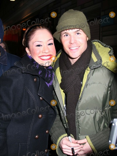Ashley Parker Photo - NYC  011907EXCLUSIVE  Ashley Parker Angel (former member of the boy band O-TOWN from the MTV reality series Making The Band and the reality series There and Back) and Diana DeGarmo (American Idol runner-up) at the stage door after his Broadway debut as Link Larkin in HAIRSPRAY at the Neil Simon TheatreDigital Photo by Adam Nemser-PHOTOlinknet