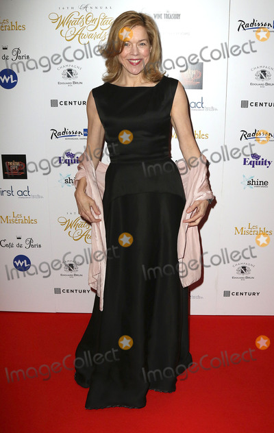 Janie Dee Photo - February 21 2016 - Janie Dee attending The 16th Annual WhatsOnStage Awards at Prince of Wales Theatre in London UK