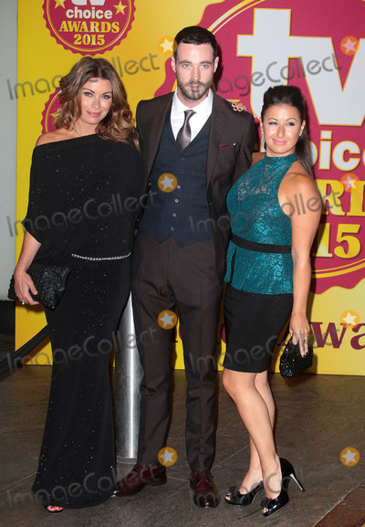 Alison King Photo - September 7 2015 - Alison King (L) and Hayley Tamaddon (R) attending the TV Choice Awards 2015 at Hilton Park Lane in London UK