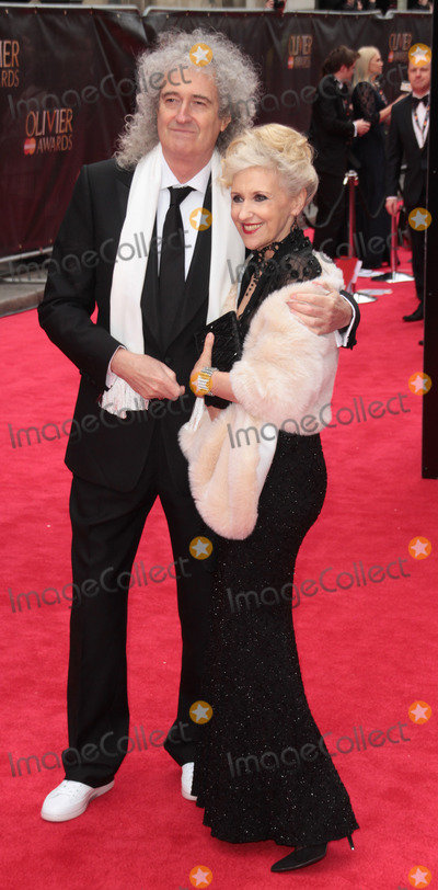 Anita Dobson Photo - Apr 28 2013 - London England UK - Laurence Olivier Awards 2013 Royal Opera House LondonPictured Brian May and Anita Dobson