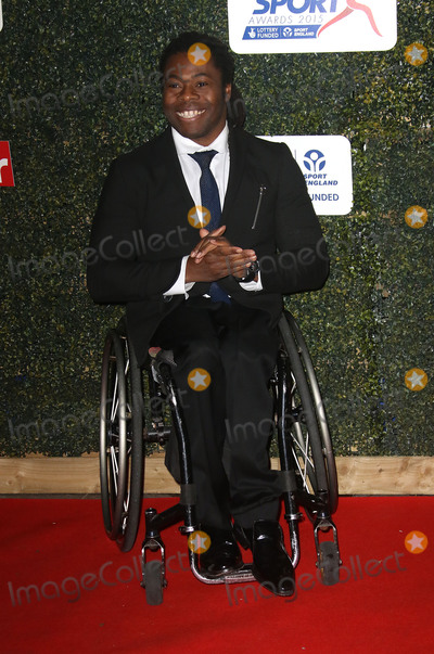 Ade Adepitan Photo - November 25 2015 - Ade Adepitan attending the Daily Mirror Pride Of Sport Awards 2015 at the Grosvenor House in London England