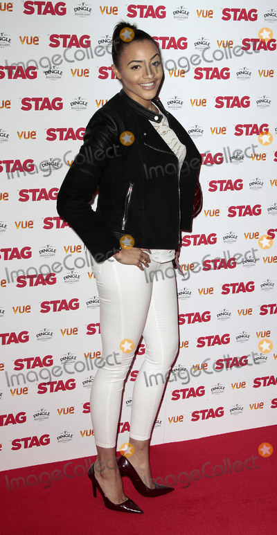 Amal Fashanu Photo - Mar 13 2014 - London England UK - Gala-Screening of Stag at Vue West End in Leicester Square Pictured Amal Fashanu