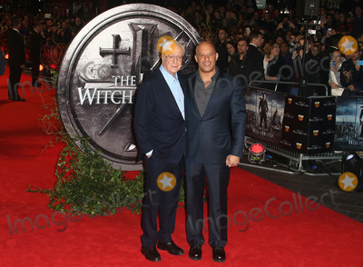 Michael Caine Photo - October 19 2015 - Michael Caine and Vin Diesel attending The Last Witch Hunter European Premiere at The Empire Leicester Square in London UK