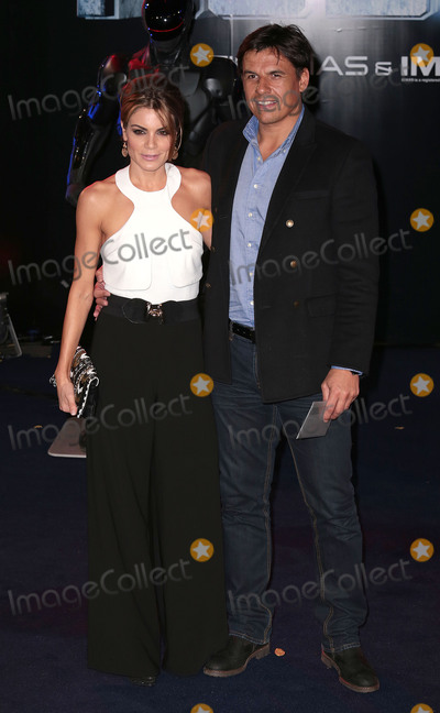 Chris Coleman Photo - Feb 05 2014 - London England UK - The World Premiere of Robocop at BFI IMAX Cinema in LondonPictured Charlotte Jackson and Chris Coleman