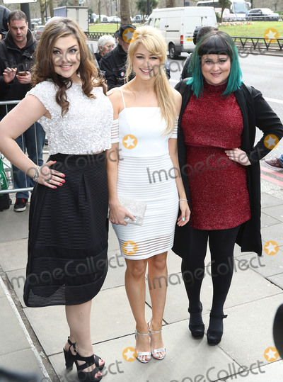 Amanda Clapham Photo - March 8 2016 - Amanda Clapham (centre) attending The TRIC Awards 2016 Grosvenor House Hotel in London UK