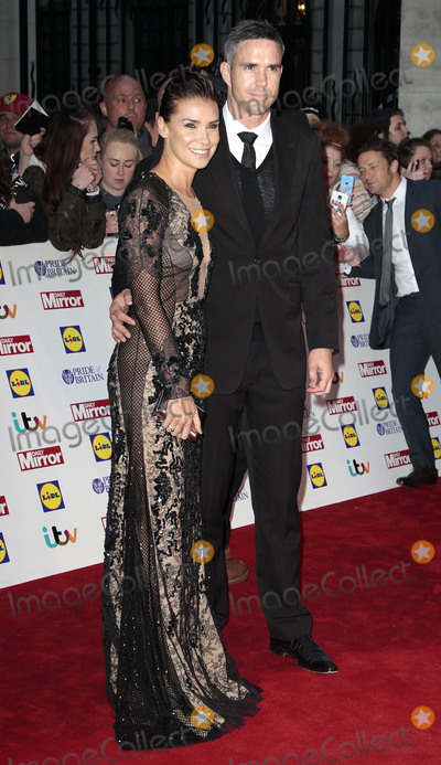 Kevin Pietersen Photo - Oct 06 2014 - London England UK - Pride of Britain Awards 2014 Red Carpet Arrivals at The Grosvenor House Hotel Photo Shows Jessica Taylor and Kevin Pietersen