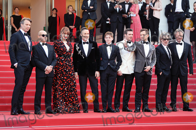 Sir Elton John Photo - CANNES FRANCE - MAY 16 Giles Martin David Furnish Bernie Taupin Sir Elton John Taron Egerton Director Dexter Fletcher and Bryce Dallas Howard attend the screening of Rocketman during the 72nd annual Cannes Film Festival on May 16 2019 in Cannes France(Photo by Laurent KoffelImageCollectcom)