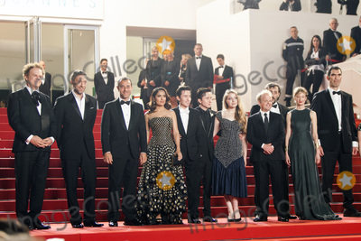 Alba Rohrwacher Photo - CANNES 14 MAY John C Reilly Vincent Cassel Matteo Garrone Salma Hayek Christian Lees Jonah Lees Bebe Cave Toby Jones Alba Rohrwacher and Guillaume Delaunay attend the Il Racconto Dei Racconti (Tale of Tales) premiere during the 68th annual Cannes Film Festival on May 14 2015 in Cannes France(Photo by Laurent KoffelImageCollectcom)