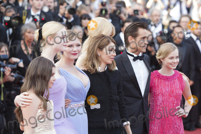 Angourie Rice Photo - CANNES FRANCE - MAY 24 (R-L) Angourie Rice Colin Farrell Nicole Kidman director Sofia Coppola Kirsten Dunst Elle Fanning Addison Riecke and Youree Henley attend the The Beguiled screening during the 70th annual Cannes Film Festival at Palais des Festivals on May 24 2017 in Cannes France (Photo by Laurent KoffelImageCollectcom)