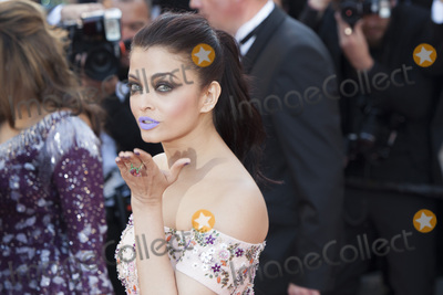 Aishwarya Photo - CANNES FRANCE - MAY 15 Aishwarya Rai attends the From The Land Of The Moon (Mal De Pierres) premiere during the 69th annual Cannes Film Festival at the Palais des Festivals on May 15 2016 in Cannes France(Photo by Laurent KoffelImageCollectcom)