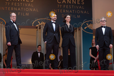 Thierry Fremaux Photo - CANNES FRANCE - MAY 9 Pierre Lescure AB Shawky Elisabeth Shawky-Arneitz Thierry Fremaux attend the screening of Yomeddine during the 71st annual Cannes Film Festival at Palais des Festivals on May 9 2018 in Cannes France(Photo by Laurent KoffelImageCollectcom)