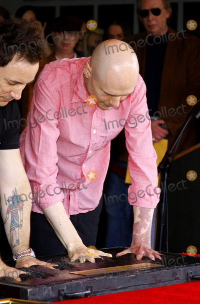 The Smashing Pumpkins Photo - Billy Corgan and Jimmy Chamberlin attend the Hollywoods RockWalk inducts The Smashing Pumpkins held at the Guitar Center in Hollywood California United States on April 23 2008 Copyright 2007-2008 by Popular Images