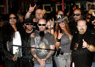 Dimebag Darrell Photo - Scott Ian Mike Inez Rita haney and Ace Frehley attend the Posthumoustly Induction of legenadary metal guitarist Dimebag Darrell Abbott into Hollywoods RockWalk held at the Guitar Center in Hollywood California on May 17 2007  Copyright 2007 by Arno GranPopular Images
