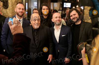 Billy Joel Photo - WESTBURY NY - NOV 8 Singer Billy Joel and members of Taking Back Sunday attend the 2018 Long Island Music Hall of Fame induction ceremony at The Space at Westbury on November 8 2018 in Westbury New York