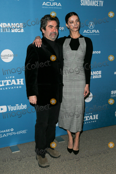 Angela Sarafyan Photo - PARK CITY UT - JAN 26 Director Joe Berlinger (L) and actress Angela Sarafyan attend the Extremely Wicked Shockingly Evil and Vile premiere January 26 2019 at Eccles Theater during the 2019 Sundance Film Festival in Park City Utah