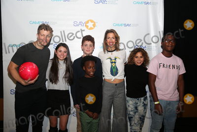 Alysia Reiner Photo - NEW YORK - NOV 11 Jeremy Hays (L) Alysia Reiner (C) and Daphne Rubin-Vega (2nd R) attend the 8th Annual Paul Rudd All-Star Benefit for SAY at Lucky Strike Lanes on November 11 2019 in New York City