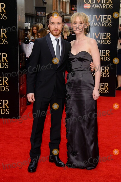 Anne-Marie Duff Photo - April 12 2015 LondonJames McAvoy and Anne-Marie Duff arriving at The Olivier Awards 2015 at Royal Opera House on April 12 2015 in London By Line FamousACE PicturesACE Pictures Inctel 646 769 0430