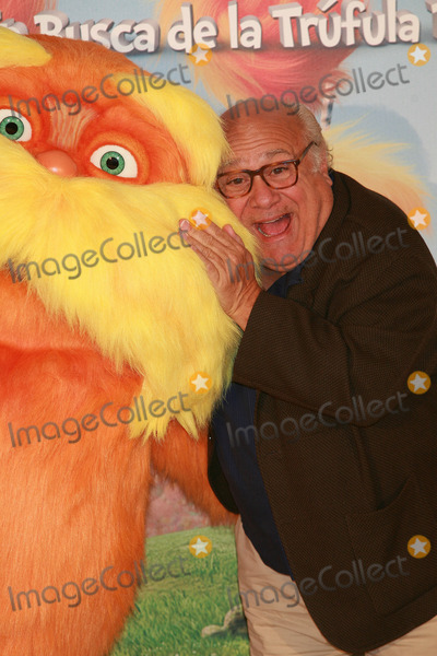 The Lorax Photo - Actor Danny DeVito at a photocall for Dr Seuss The Lorax at Villa Magna Hotel on March 8 2012 in Madrid Spain