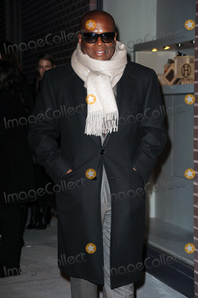 ANTONIO REID Photo - Antonio LA Reid arriving at the opening of the first Hermes Mens Store on Madison Avenue on February 9 2010 in New York City