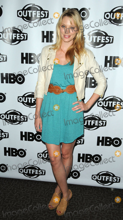 April Bowlby Photo - April Bowlby arriving at a screening of Drop Dead Diva at the 29th annual Gay  Lesbian Film Festival at Directors Guild Of America on July 17 2011 in Los Angeles California