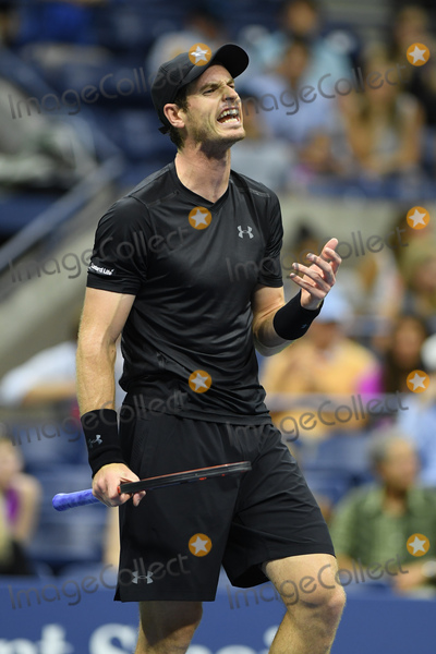 Andy Murray Photo - August 29 2016 New York CityAndy Murray on Day Two of the 2016 US Open at the USTA Billie Jean King National Tennis Center on August 30 2016 in New York CityBy Line SolarACE PicturesACE Pictures IncTel 6467670430