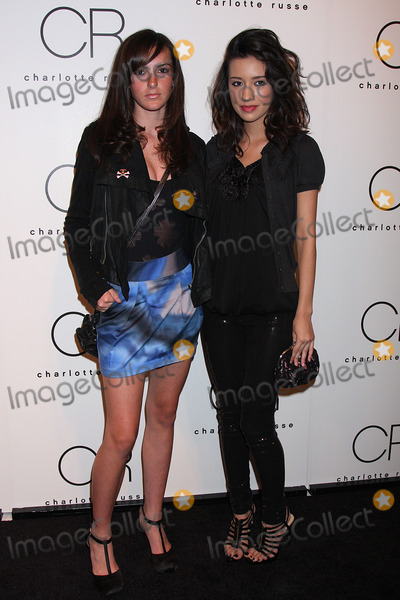 Ali Lohan Photo - Ali Lohan and actress Christian Serratos at the Charlotte Russe Fall 2009 launch party at Openhouse Gallery on July 15 2009 in New York City
