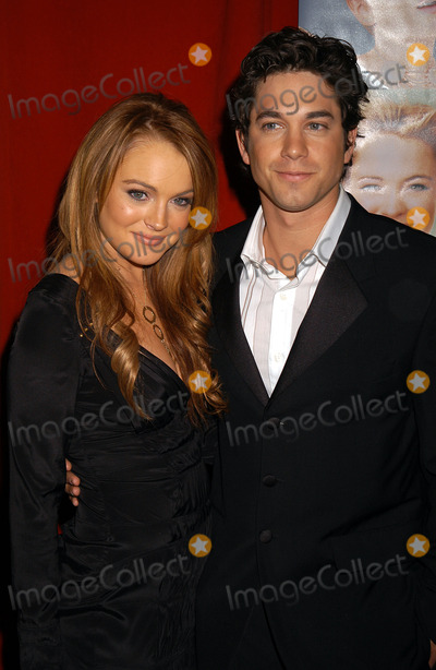 Adam Garcia Photo - NEW YORK FEBRUARY 17 2004    Lindsay Lohan and Adam Garcia attend the premiere of Confessions of a Teenage Drama Queen in NYC