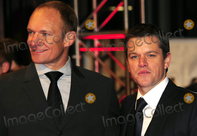 Francois Pienaar Photo - Francois Pienaar and Matt Damon arriving at the UK  premiere of Invictus at Odeon West End on January 31 2010 in London England